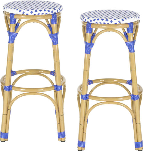 Kipnuk Rattan Bar Stools from Safavieh Home - Rattan Bar Stools - www.mydesign42.com