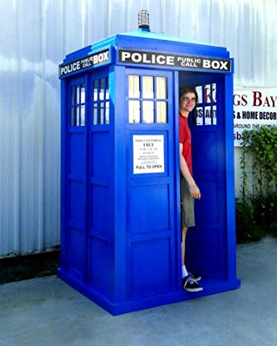 Yes, they are selling a full size Police Call Box on Amazon. - Love The Doctor? Full Size Police Call Box Tardis – Doctor Who Gift