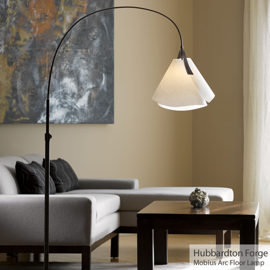 Hubbardton Forge 234505 Mobius Arc Floor Lamp