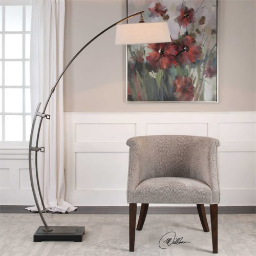 Uttermost 28135-1 Calogero Arc Floor Lamp