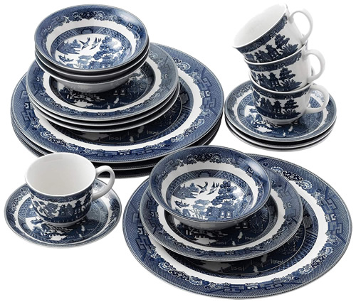 Johnson Brothers Blue Willow China - Blue Willow China - It's really not hard to find now