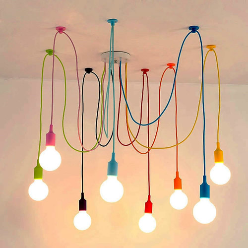 Nordic Spider Chandelier or Nordic Spider Multiple Pendants