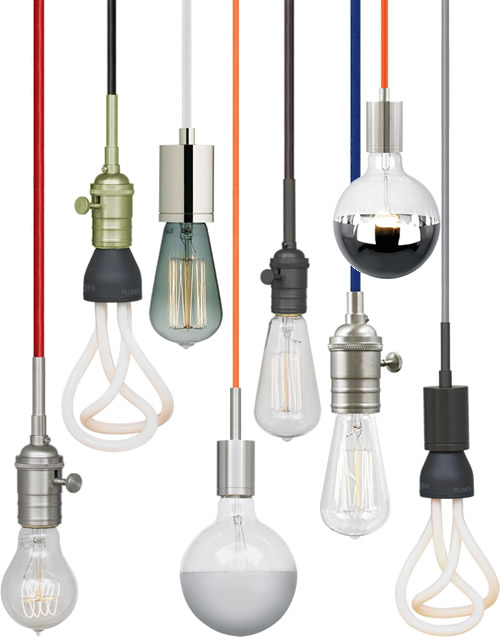 Tech Lighting SoCo Socket and Cord Pendants