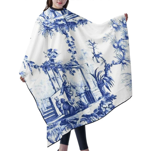 Chinoiserie Landscape Toile Salon Cape