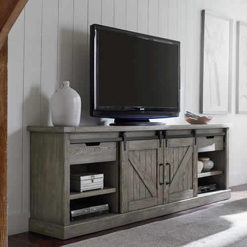"""Martin Furniture Avondale 86"""" Console IMAE380G"""