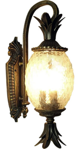 Carl Artbay 75100-11 Pineapple Wall Lantern
