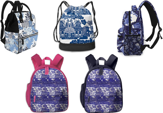 Blue Willow Backpacks