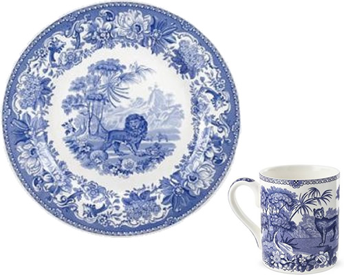 Spode Aesop's Fables from Spode Blue Room Collection