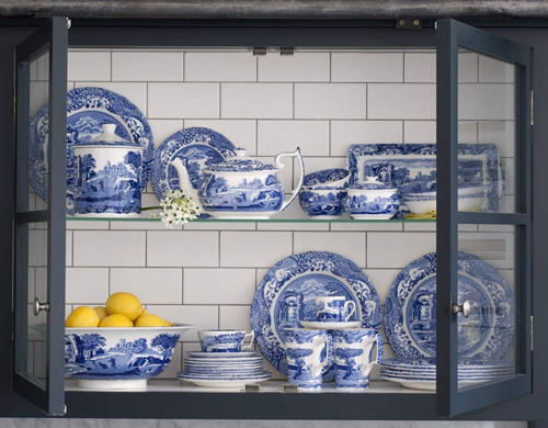 Spode Blue Room Collection on Display