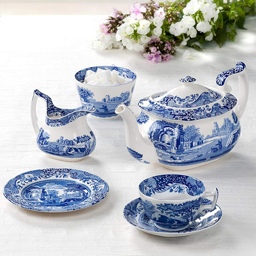 Spode Blue Room Tea Service