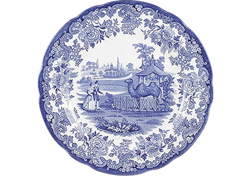 Spode Camel from the Zoological Blue Room Collection