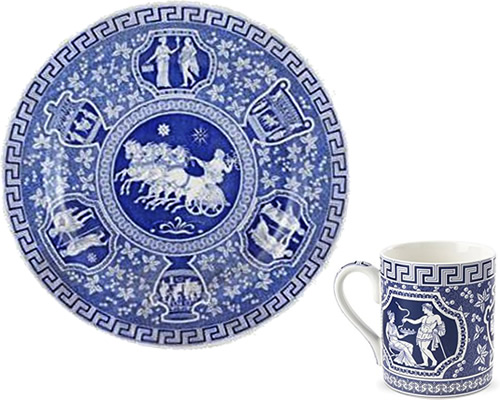 Spode Greek from the Traditions Blue Room Collection