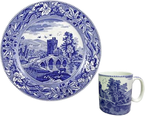 Spode Lucano from the Traditions Blue Room Collection