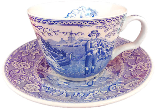 Spode Woodman from the Blue Room Collection