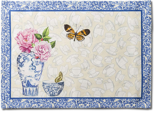 Front of Maison d' Hermine Canton Placemats
