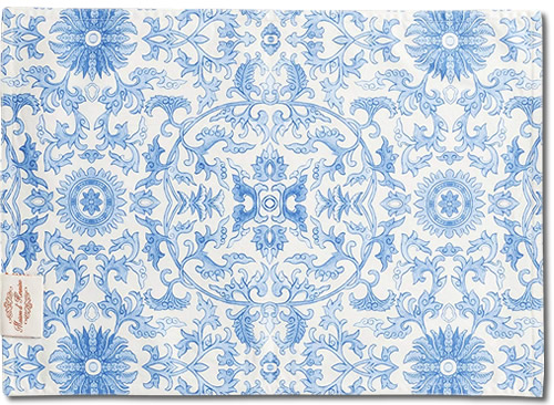 Back of Maison d' Hermine Canton Placemats