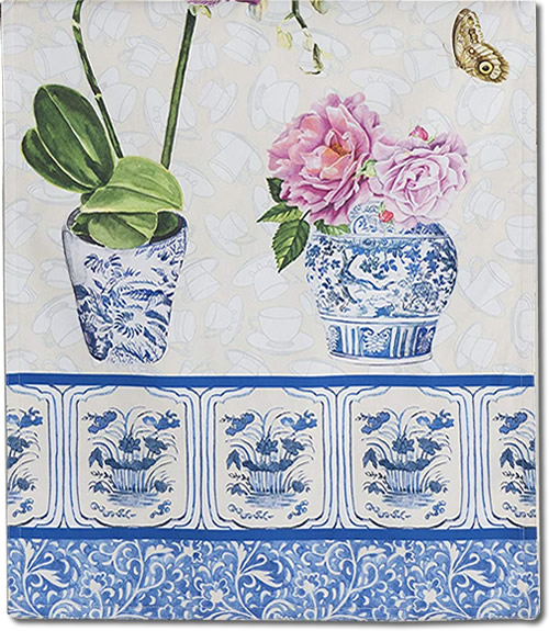 End of Maison d' Hermine Canton Table Runner