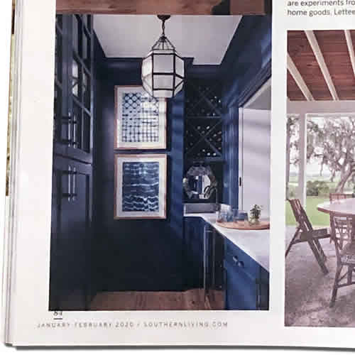 McGee & Co. Morris Lantern in the January/February 2020 issue of Southern Living
