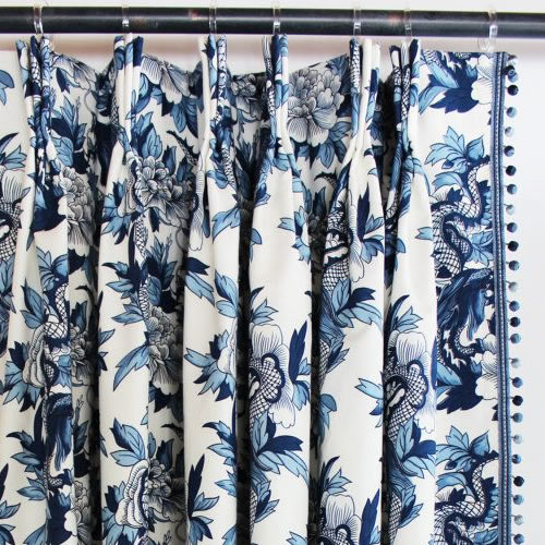 Looking For Blue Willow Curtains My