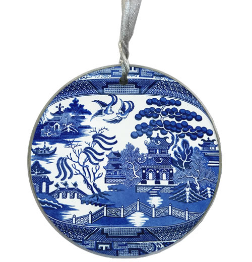 Marye-Kelley Blue Willow Ornament