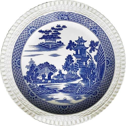 Spode Mandarin Willow Plate