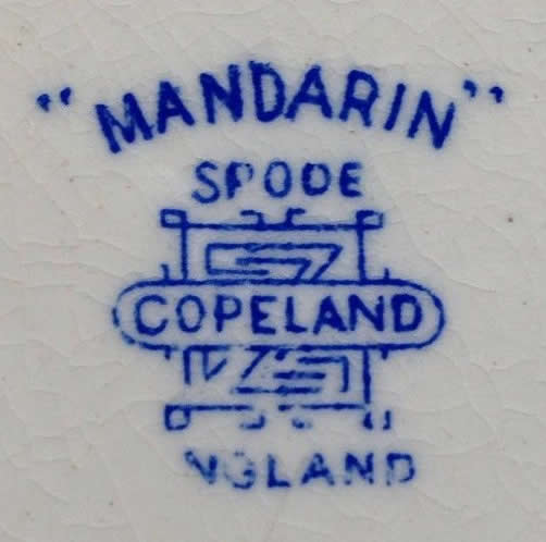 Copeland Spode Mandarin Willow