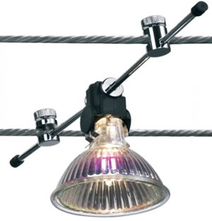 Bruck Lighting High-line Cable Fixture