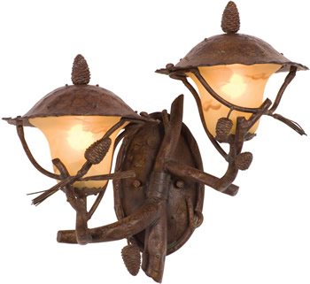 Kalco 9163PD Right Ponderosa Double Wall Lantern