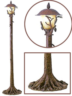 Kalco 9179PD Ponderosa Anchor Base Post with 9171PD Post Lantern