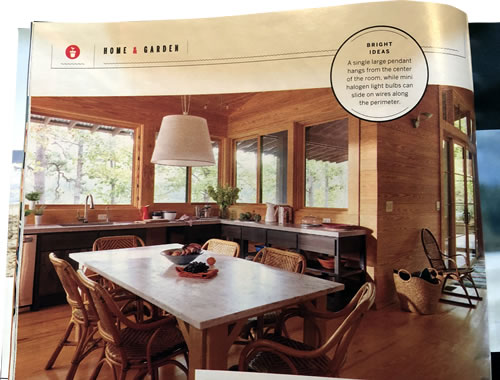 Kitchen Cable Lighting Design Inspiration Southern Living July 2020