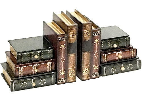 Bellaa 23868 Faux Book Bookends