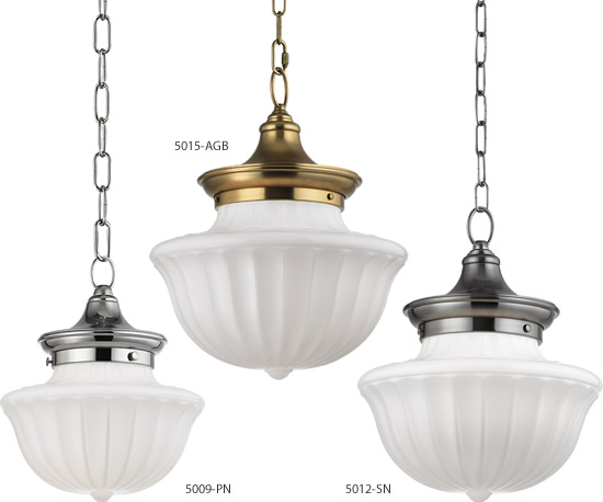 Hudson Valley Lighting Vintage Dutchess School House Pendants