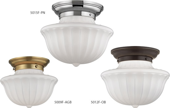 Hudson Valley Lighting Vintage Dutchess School House Ceiling Lights
