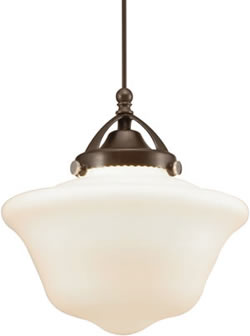 WAC Milford Quick Connect Early Electric Style LED Pendant