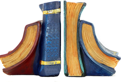Bellaa Faux Book Bookends