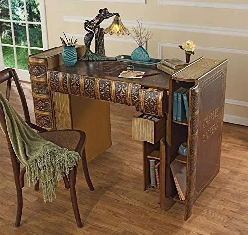 Design Toscano OA38136 Literary Volumes Writing Desk
