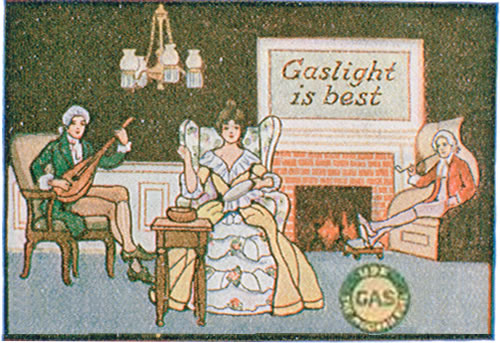 Ad for Gas Lighting