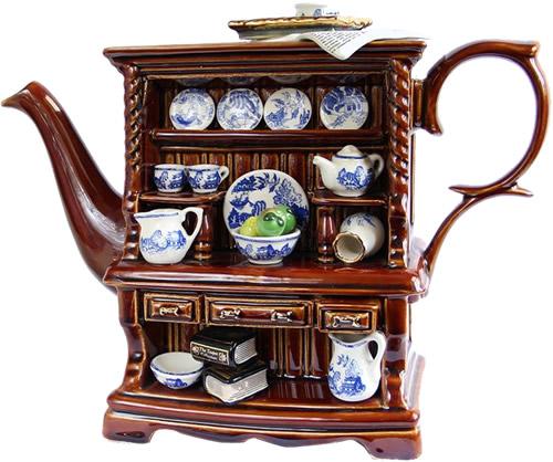 Royal Doulton Blue Willow Dresser Teapot