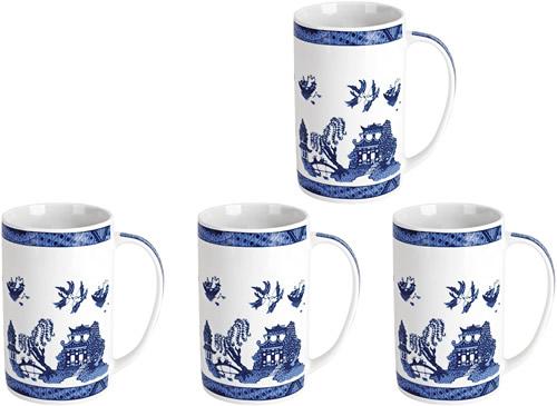 Cardew Design Blue Willow Mugs