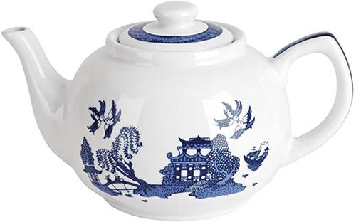 Cardew Design Blue Willow Tea Pot