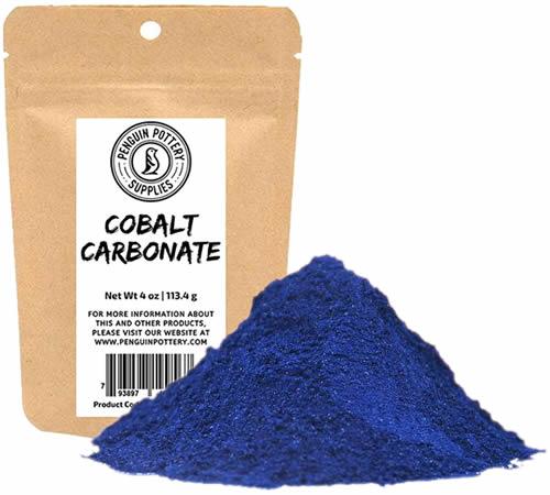 Cobalt Carbonate is still used to color ceramics.