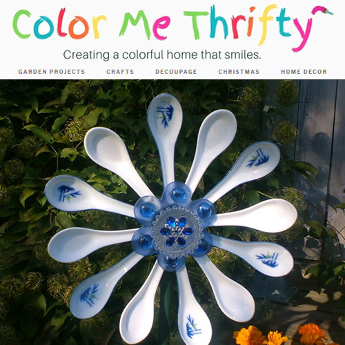 Color Me Thrifty Chinese Spoon Flower