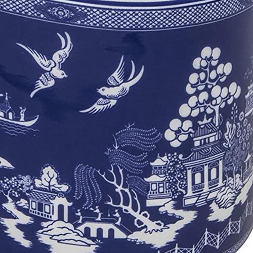Grace Teaware Reverse Blue Willow