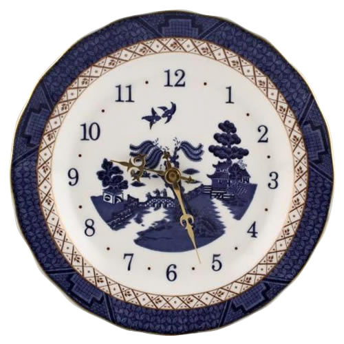 Real Old Willow Wall Clock by Royal Doulton