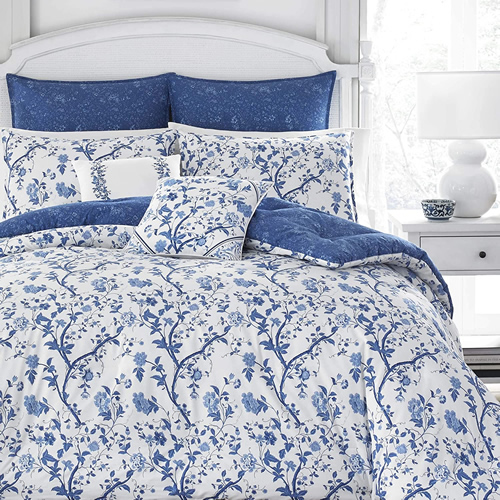 Laura Ashley Home Elise 7-Piece Bedding Set