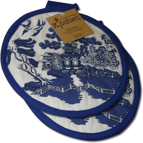 Kay Dee Designs Blue Willow Potholders