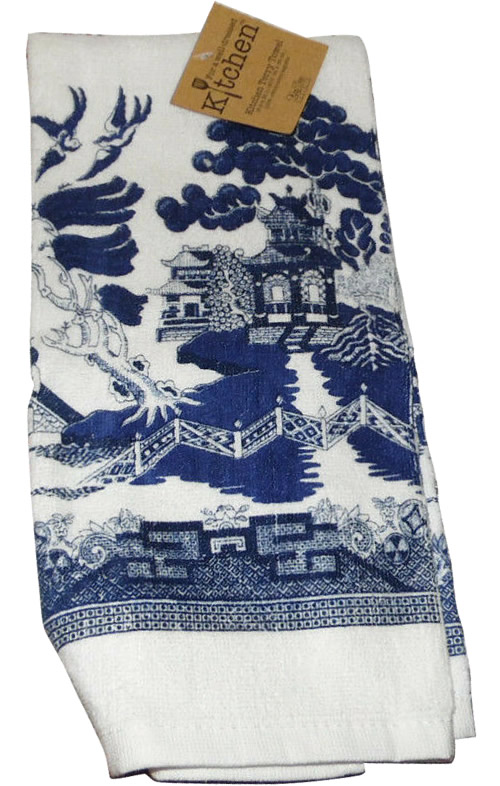 Kay Dee Designs Blue Willow Kitchen Towel