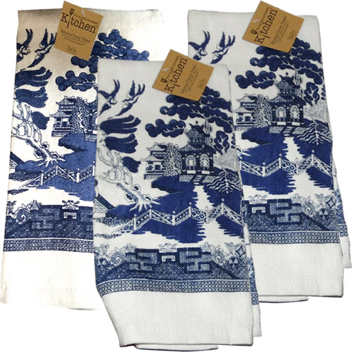 Kay Dee Designs Blue Willow Kitchen Towels