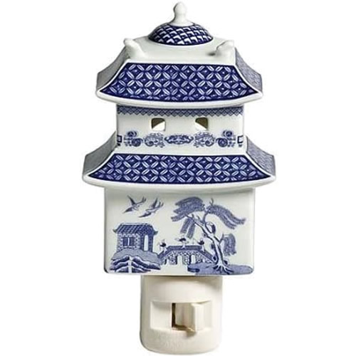 Johnson Brothers Willow Pagoda Night Light