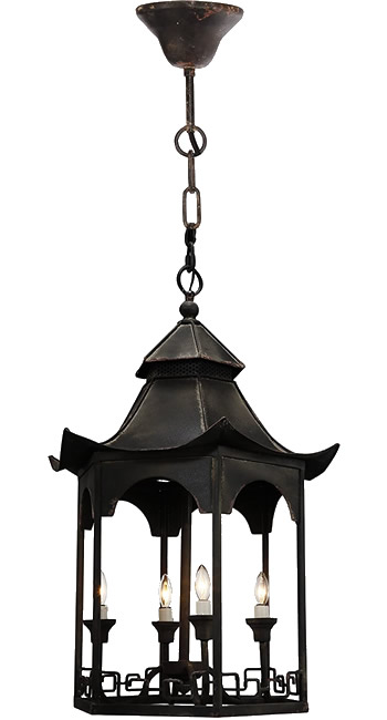 A&B Home FD38410 Pagoda Chandelier from the Florence de Dampierre Collection